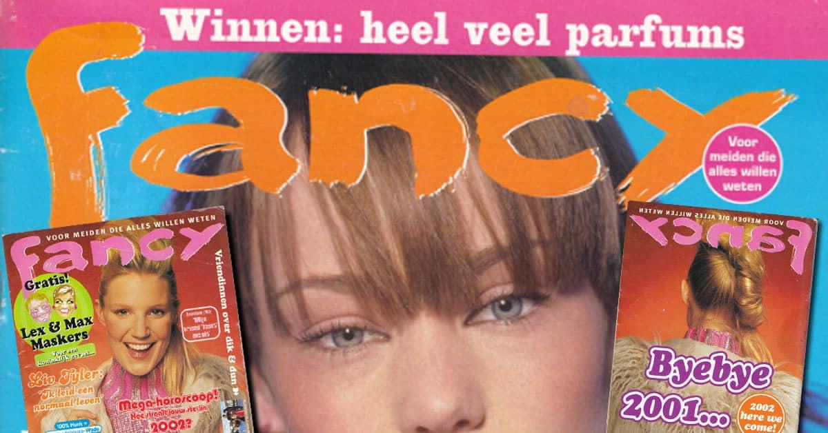Fancy magazine cover vroeger lezen