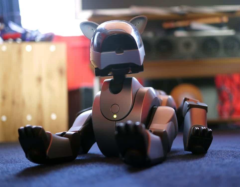 Robot hond speelgoed vroeger