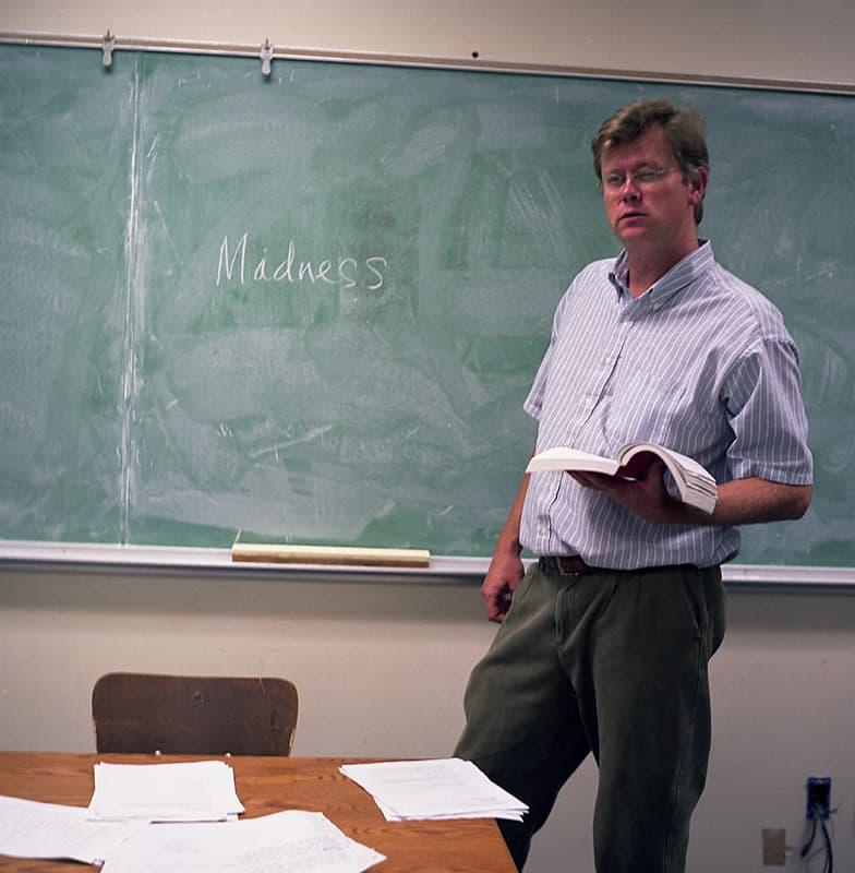 Uitspraken leraren school klas schoolbord docent