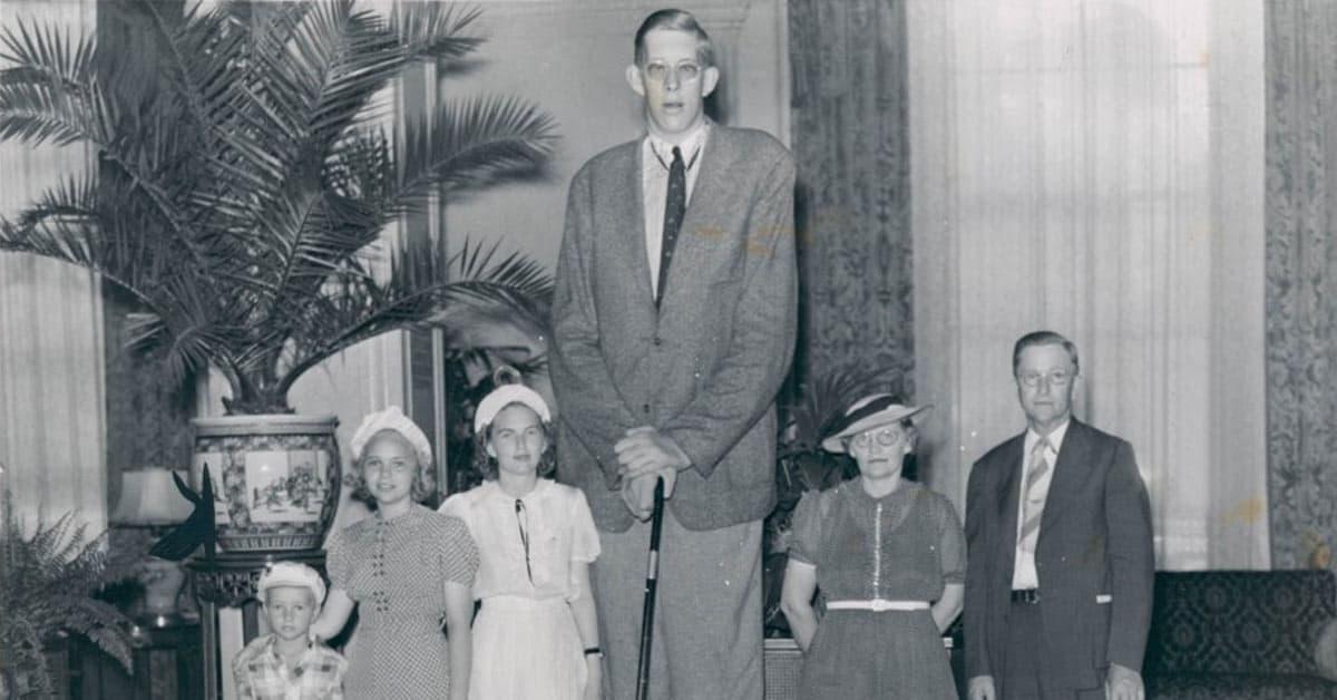 RObert Wadlow langste mens