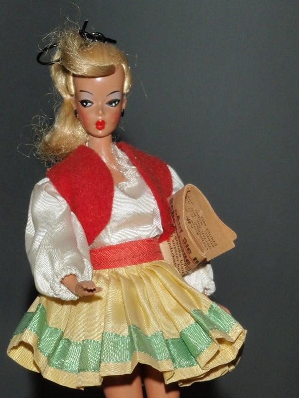 Barbie pop vroeger Bild Lilli
