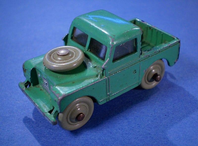 Dinkey Toys auto stootje