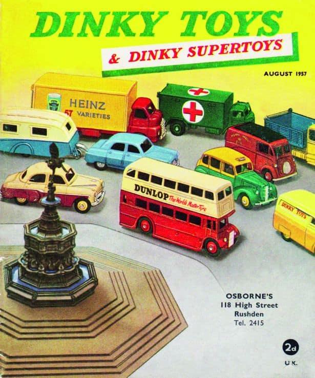 Dinky toys speelgoed vroeger modelauto