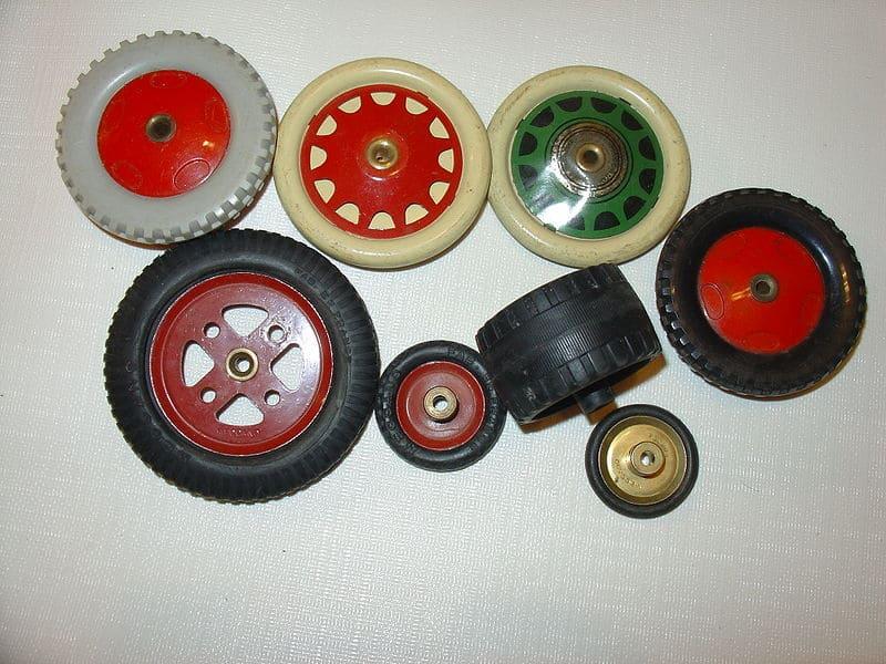 Meccano wielen bouwen