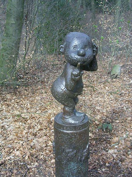 Paulus de Boskabouter standbeeld