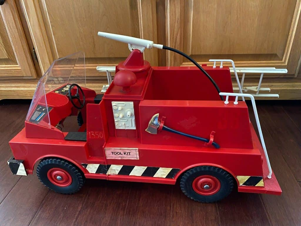 Action man brandweerwagen
