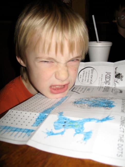 Eten tafe ouders dreigden