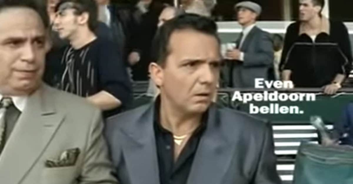 Even Apeldoorn bellen reclames paard
