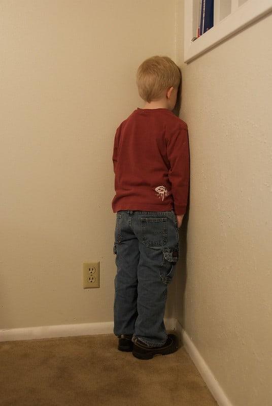 In hoek staan straf uitspraken ouders