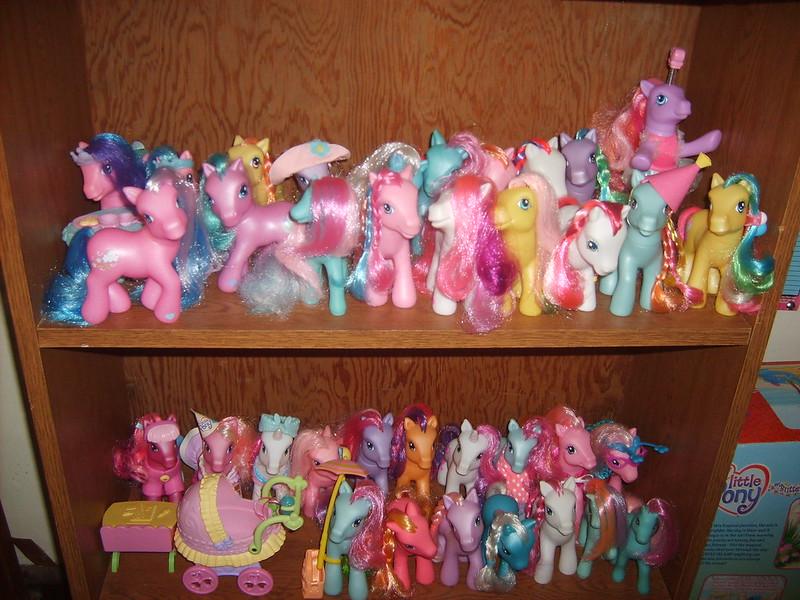 My little pony speelgoed vroeger