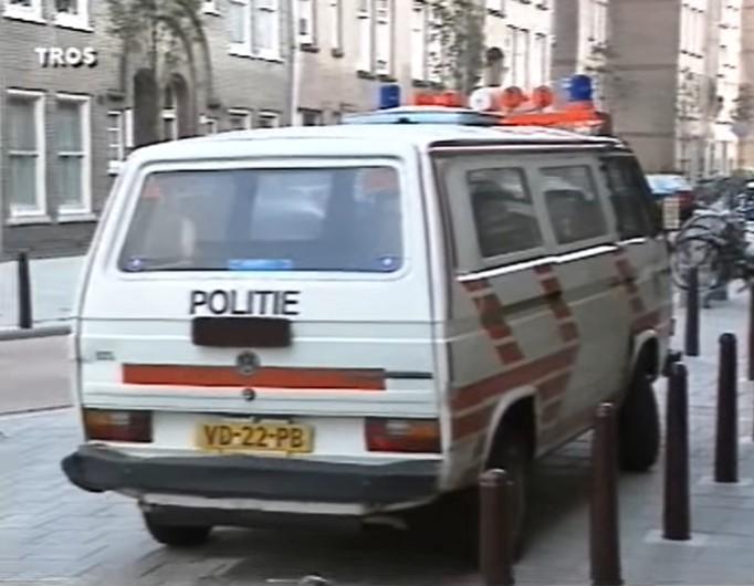 Politiewagen vroeger verkeersboetes