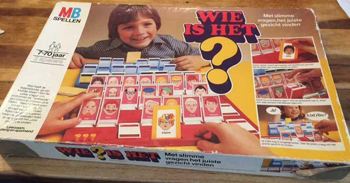 Wie is het spel doos vroeger
