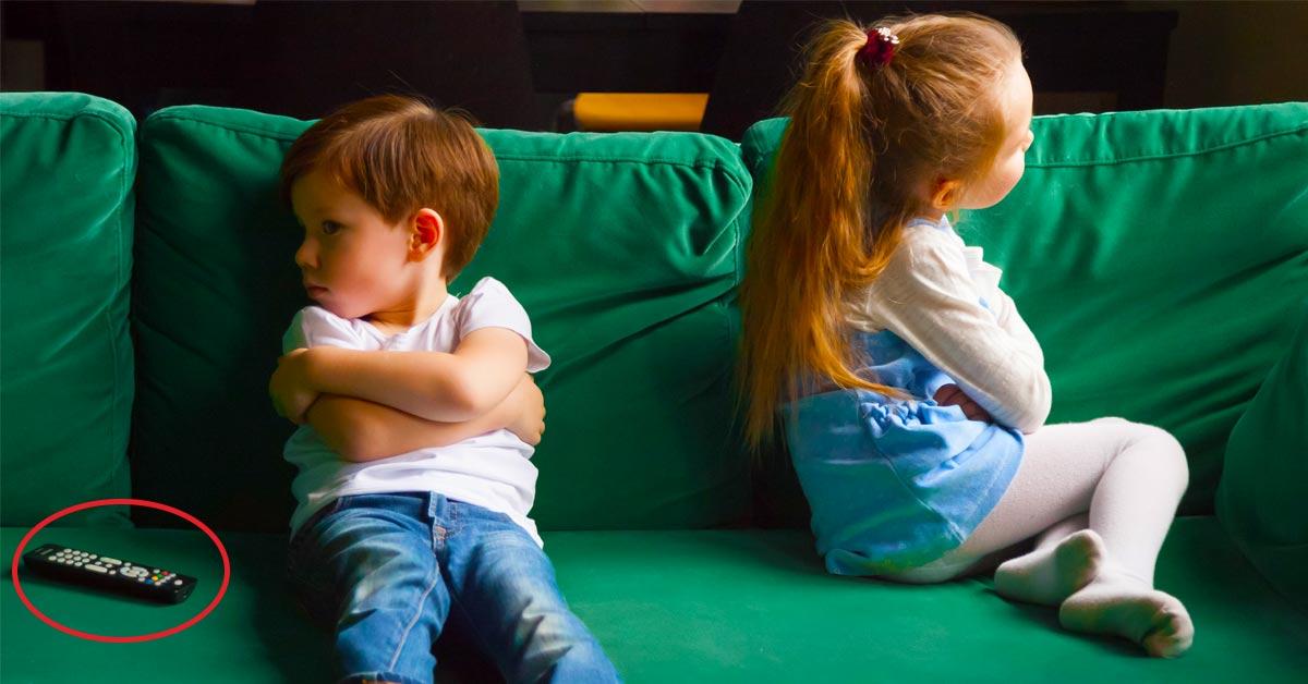 Broer zus ruzie vroeger