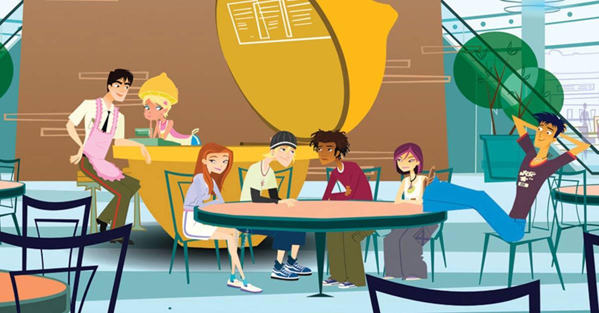 6tien tekenfilm serie vroeger