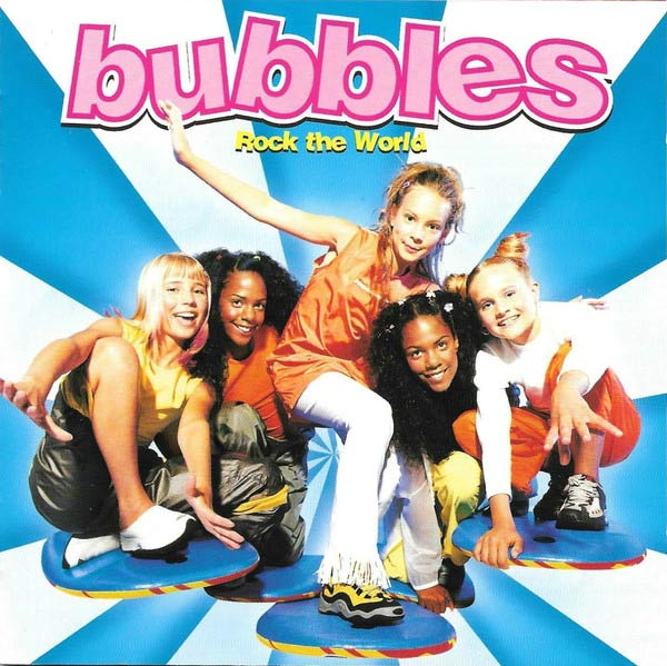 Bubbles meidenband zweden rock the world
