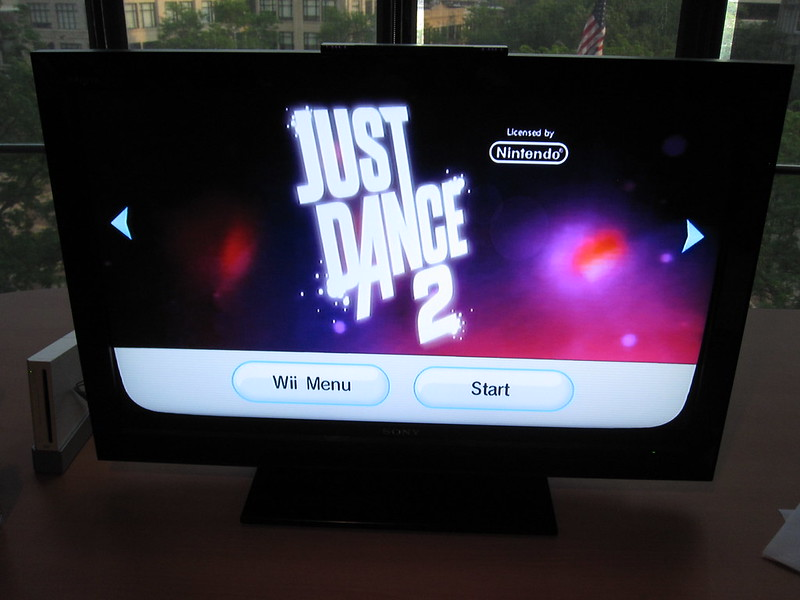Just dance muziekspel dansen