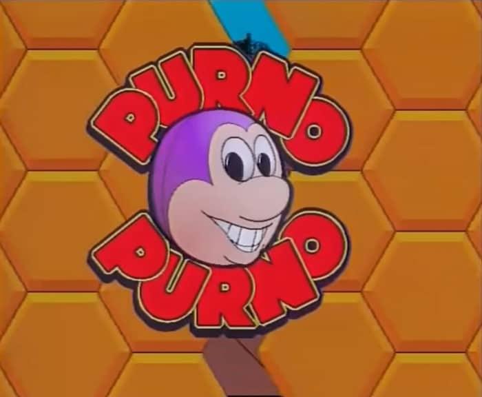 Purno de purno televisie tekenfilm serie