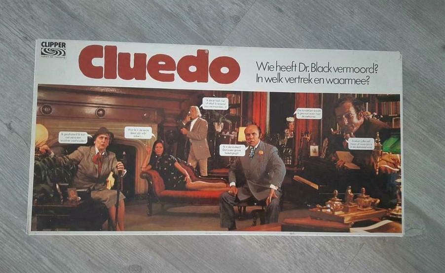 Cluedo gezelschapsspel