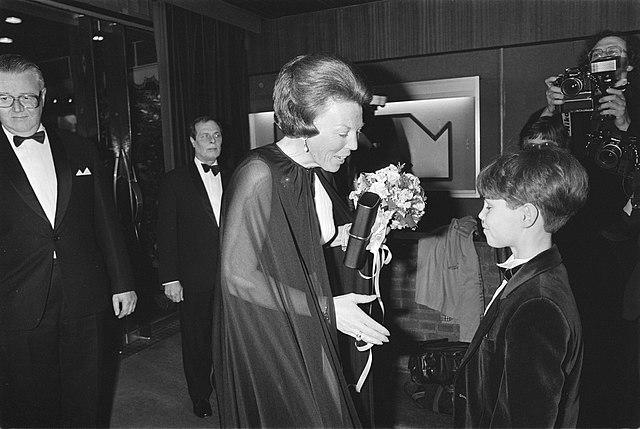 Danny de Munk en koningin Beatrix