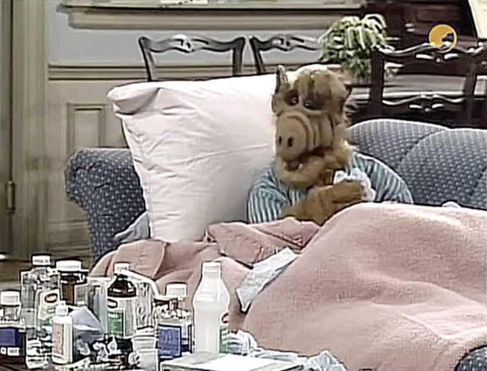ALF tv serie woonkamer bankstel