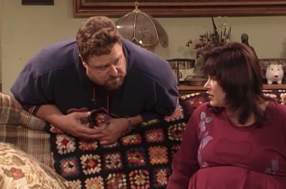 Roseanne en Dan Bankstel
