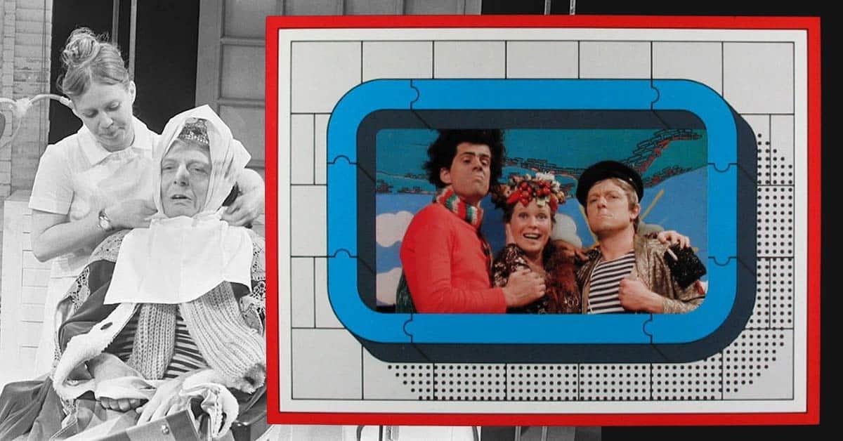 Stratemakeropzeeshow televisie serie cover plaat