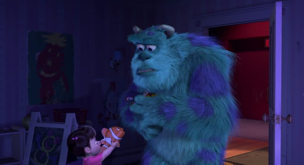 Monsters Inc. Boo Sulley