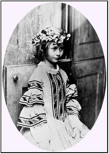 Alice in Wonderland echte Alice Liddell