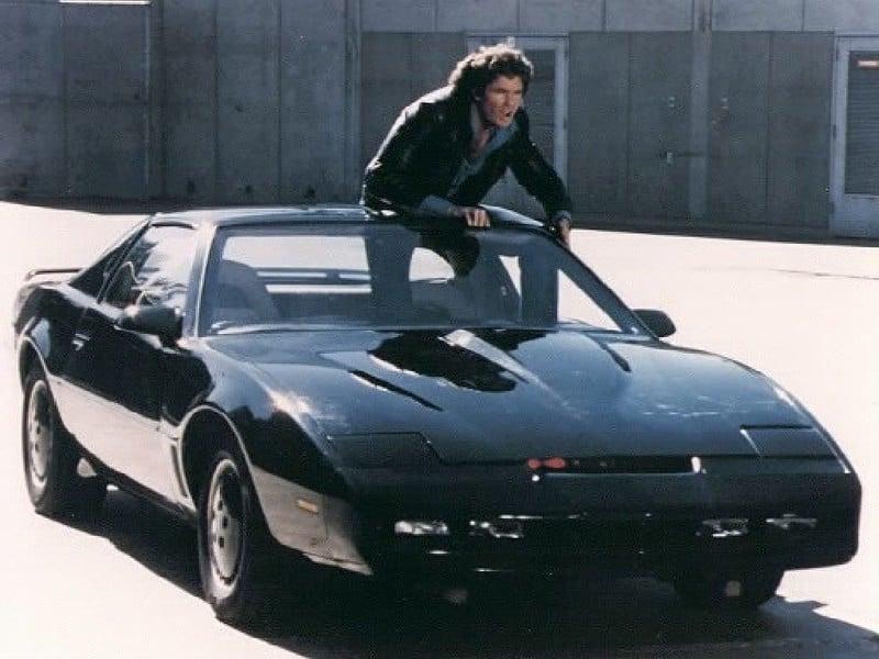 David Hasselhoff Knight Rider KITT