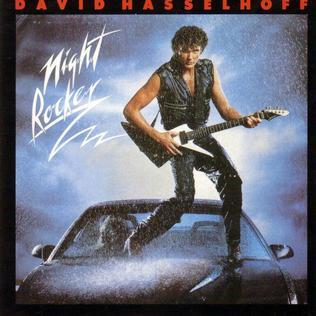 David Hasselhoff Night Rocker album