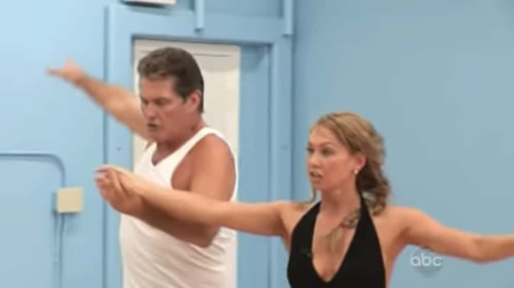 David Hasselhoff in Dancing With The Stars