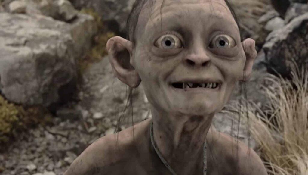 Gollum Smeagol Lord of the Rings minder bekende helden
