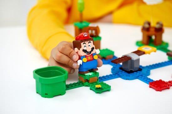 Lego Super Mario Lego Mario