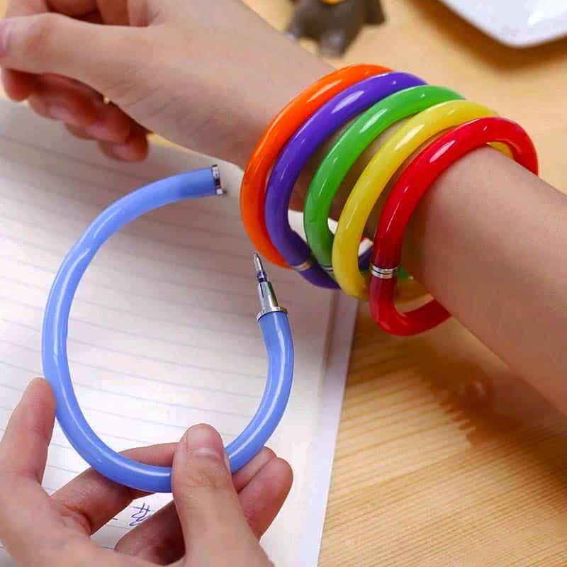 Pen armband Schoolspullen van vroeger