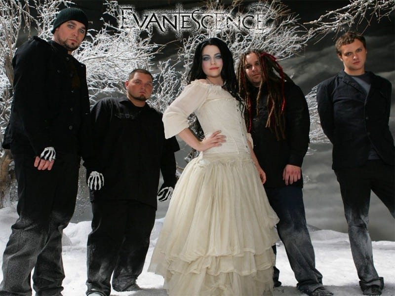 Evanescence band cover