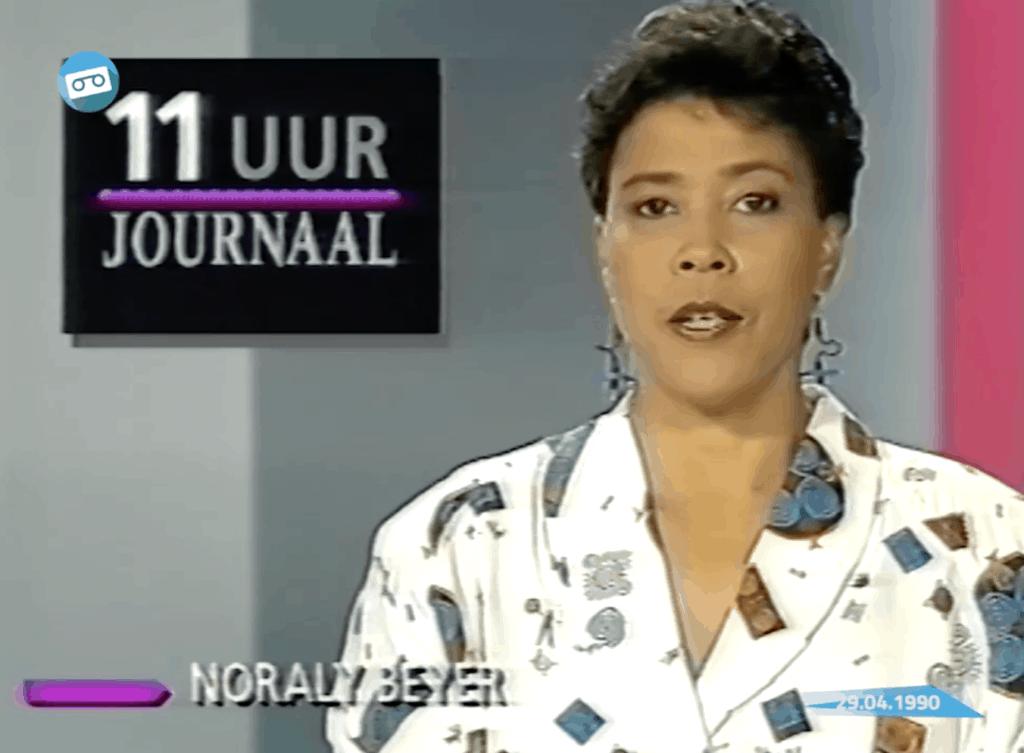 Noraly Beyer NOS Journaal 1990