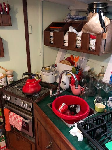 Keuken van toen jaren 70