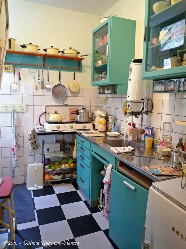 Keuken van vroeger jaren 70