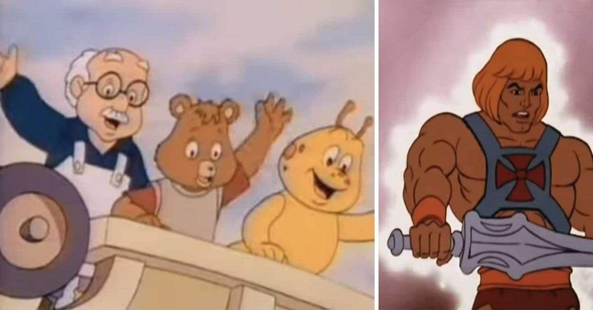 Tekenfilms jaren 80 cartoons vroeger 80s