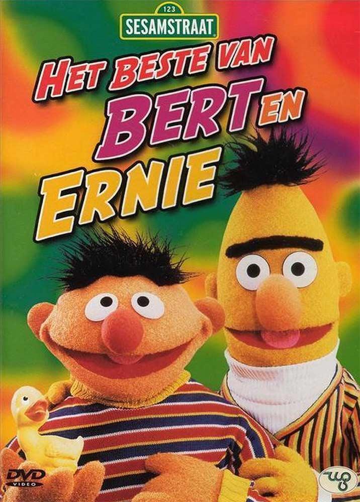Bert en Ernie Sesamstraat DVD