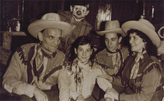 Circus familie circus Renz