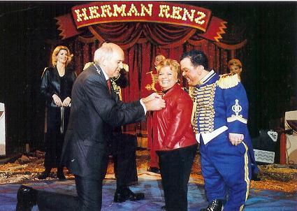 Circus Renz koninklijke onderscheiding