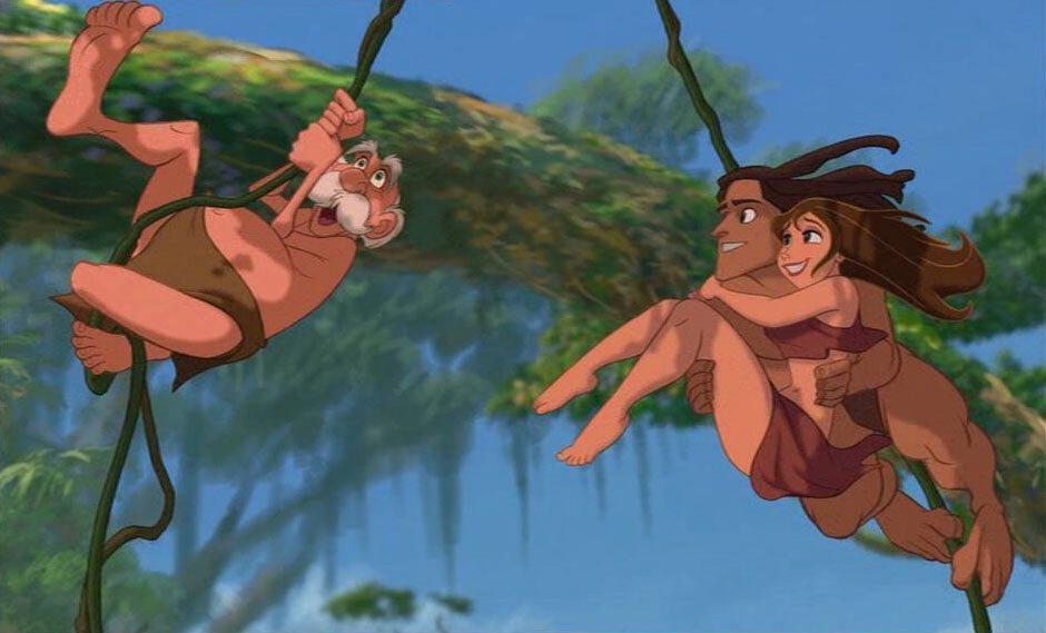 Tarzan lianen jungle