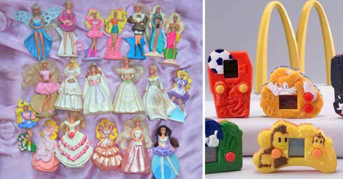 McDonalds Happy Meal speeltjes vroeger 90s nostalgie
