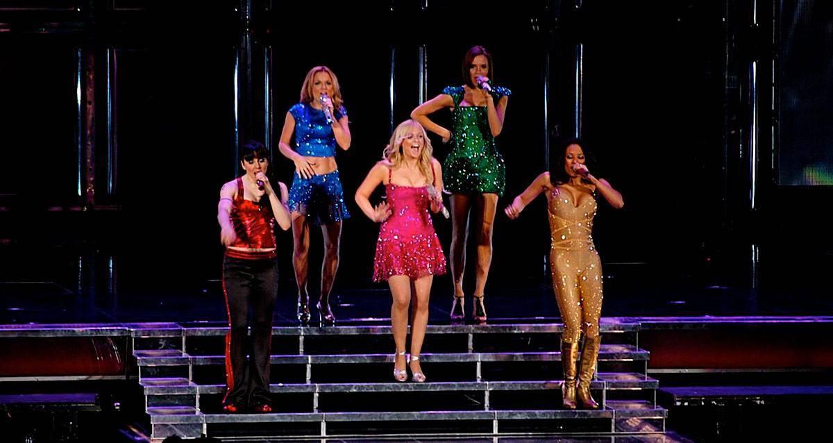 Spice Girls groep concert titel